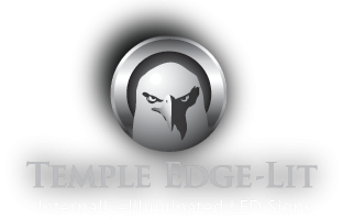 Temple Edge-Lit